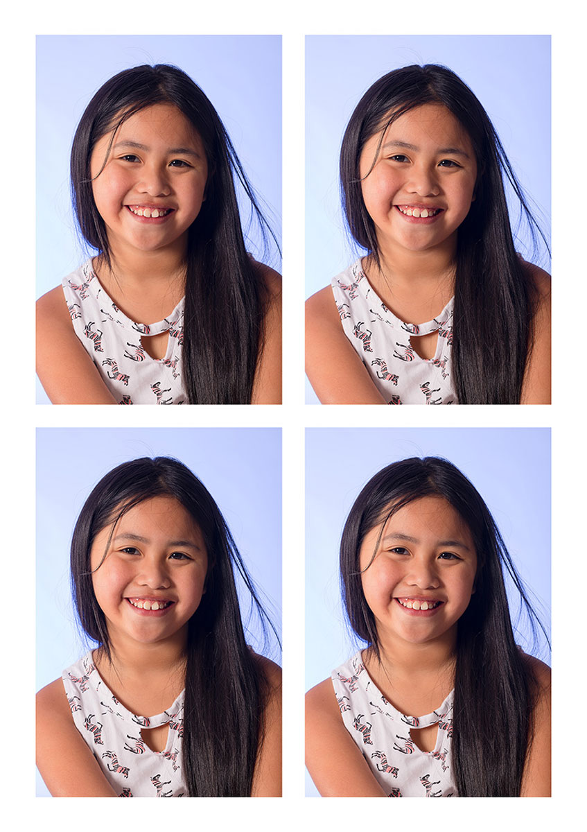 Viererblock von Ihren Fotos