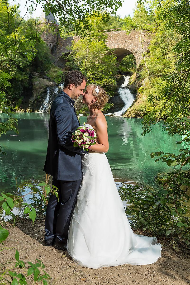 Wasserfälle Burg Pyrmont