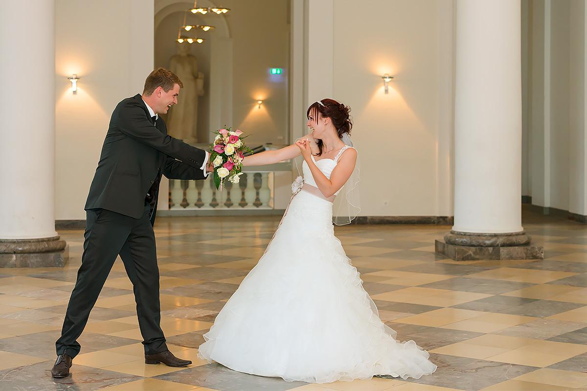Hochzeitssession im Koblenzer Schloss